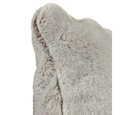 Coussin 45x45 cm BANQUISE taupe/gris