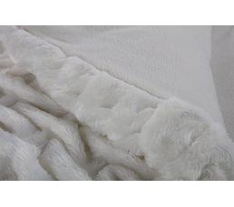 Edredon 100x180 cm GRIZZLI blanc