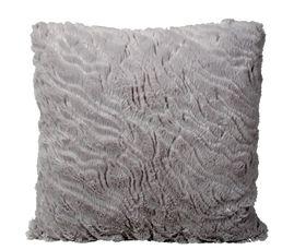 Coussin 40x40 cm PAILLETTES gris
