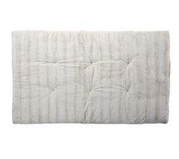Plaids - Edredon 100x180 cm SIBERIE blanc