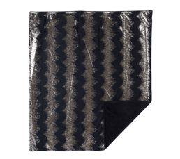 Plaid 130x160 Cailla Noir
