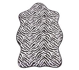 SAFARI Tapis 68x100 cm noir/blanc