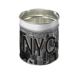 Accessoires Bureau - Corbeille 12L NY Blanc/Noir/Gris