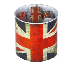 Set de papeterie UNION JACK Bleu/Rouge