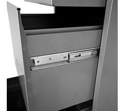 Classeur 4 tiroirs RETRO 2 aluminium