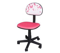 couleur rose chaise et fauteuil de bureau pas cher. Black Bedroom Furniture Sets. Home Design Ideas