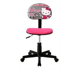 Achat chaise de bureau assises bureau meubles - Chaise de bureau hello kitty ...