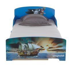 Lit 90 x 190 cm PLAYMOBIL PIRATE Bleu