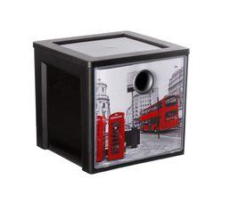 Boites De Rangement - Cube de rangement MYDECOBOX CITY Livré avec décor