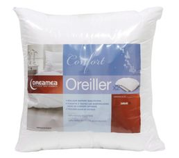 DREAMEA Lot de  2 Oreillers 60x60 cm CONFORT