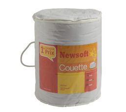 Couette 140 x 200 cm NEWSOFT CTSOFBU011420