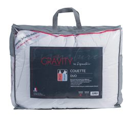 SIGNATURE Couette 220x240 cm GRAVITY DUO