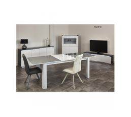 Table PACIFIC Gris/blanc