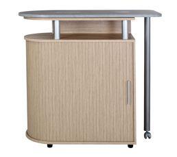Tables - Meuble bar mange debout NANTES Chêne/ béton