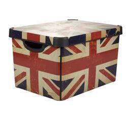 BRITISH FLAG  Rouge/Bleu