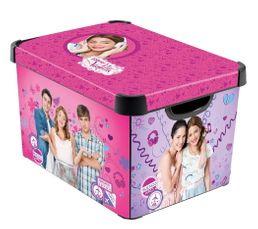 Boîte 40 x 30 x 24 cm VIOLETTA Violet