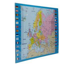Sous main EUROPE Bleu