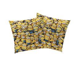 LES MINIONS Coussin 40 x 40 cm jaune