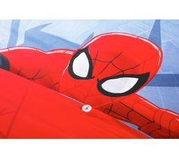 Parure réversible 140x200 SPIDERMAN MASK Bleu / Rouge