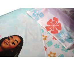 Housse de couette 140x200 + 1 VAIANA ALOHA multicolor