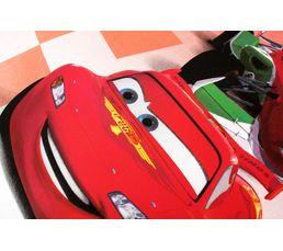 Parure 140x200 CARS CIRCUIT Gris / Rouge