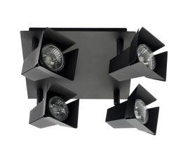 Spots Et Plafonniers - Plafonnier 4L CINE Noir