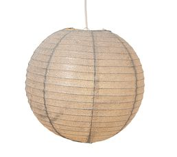 DISCO BOULE PAPIER Suspension Gris