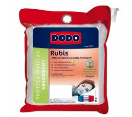 Protège matelas 200x200 cm DODO RUBIS