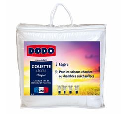 Couettes Et Oreillers - Couette 140 x 200 cm DODO ECO-BUDGET