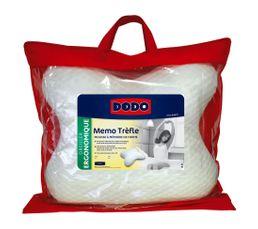 oreiller 40 x 55 cm dodo memo trefle oreiller et traversin but. Black Bedroom Furniture Sets. Home Design Ideas