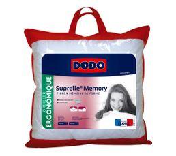 Oreiller 60 x 60 cm dodo suprelle memory oreiller et traversin but - Oreiller suprelle memory ...