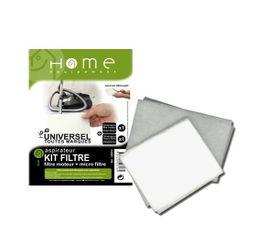 Accessoires Entretiens Des Sols - Lot de filtres aspirateur HOME EQUIPEMENT Moteur et air - à découper