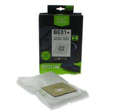 Accessoires Entretiens Des Sols - Sac aspirateur HOME EQUIPEMENT HEBE01+ x 4