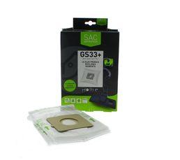 Accessoires Entretiens Des Sols - Sac aspirateur HOME EQUIPEMENT HEGS33+ x 4