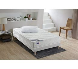 matelas 90x190 cm mousse m moire de forme 1 oreiller harmony matelas but. Black Bedroom Furniture Sets. Home Design Ideas