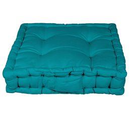 Coussin de sol 40x40 cm RAINBOW 2 bleu