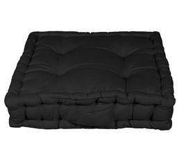 Coussins - Coussin de sol 40x40 cm RAINBOW 2 noir