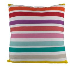 Coussin 40x40 cm VALENCE Multicolor
