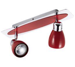 Lampe rouge et luminaire for Luminaire cuisine rouge