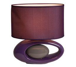 Lampes à Poser - Lampe à poser WARREN Prune