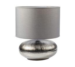 Lampe à poser MACARON Chrome-Gris