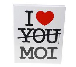 Classeur à anneaux I LOVE YOU MOI