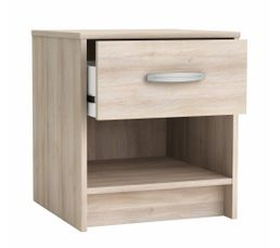 Type de meuble chevet table de chevet pas ch re for Table de chevet bois clair