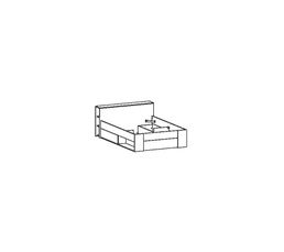 lit 140x190 cm smart ch ne bross lits but. Black Bedroom Furniture Sets. Home Design Ideas