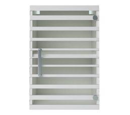 Haut 40 cm 1 porte vitrée NOVA 305914 / Blanc