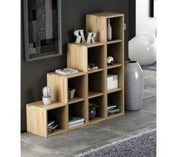 Couleur bois clair magasins but meubles de for Meuble tv separation de piece