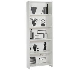 Biblioth�ques - Bibliothèque DECO Blanc/noir