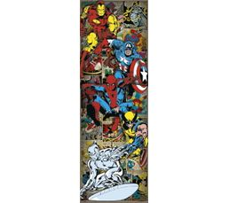 Laminage 53X158 MARVELS COMICS Jaune/Rouge/Bleu