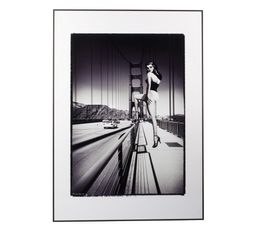 Image 50X70 PIN UP BRIDGE Noir/Blanc