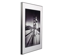 Toiles - Image 50X70 PIN UP BRIDGE Noir/Blanc